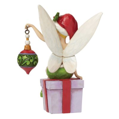 Disney Traditions Tinkerbell Deck The Halls Figurine