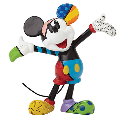 Britto Mickey Mouse Mini Figurine