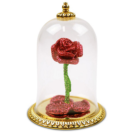Arribas Jewelled Collection, Beauty and the Beast Enchanted Rose Figurine
