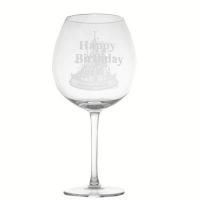 Arribas Glass Collection, Disneyland Paris Castle Extra Large Wine Glass