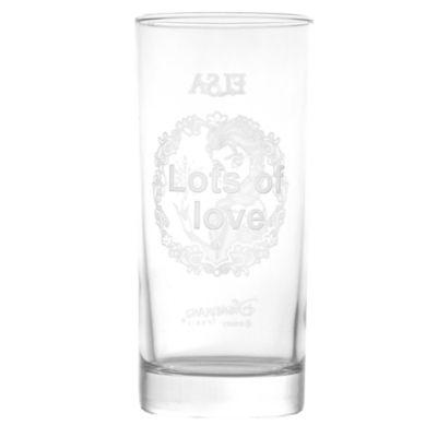Arribas Glass Collection, Elsa Long Glass