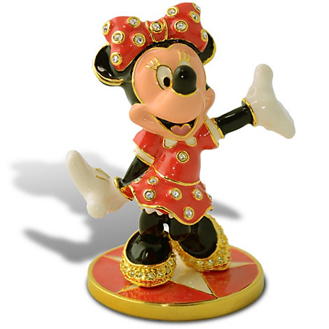 Arribas Jewelled Collection, Minnie Mouse Limited Edition Figurine