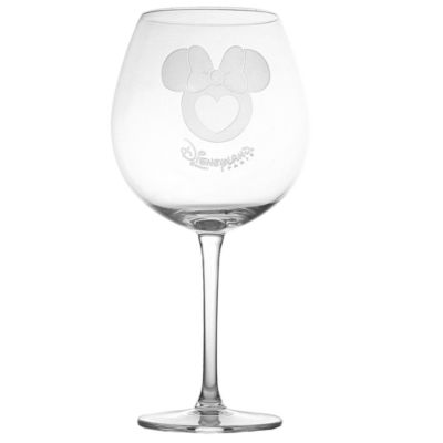 Arribas Glass Collection, Disneyland Paris Minnie Mouse Extra Large Wine Glass