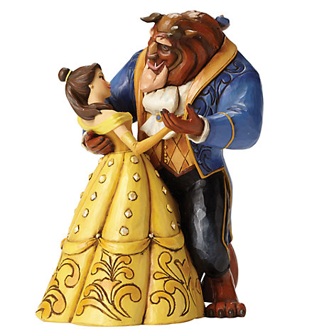 Disney Traditions Belle And Beast Figurine