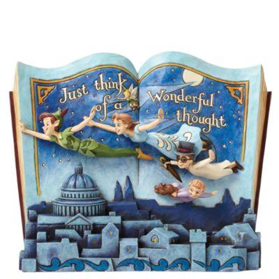 Disney Traditions Peter Pan Storybook Figurine