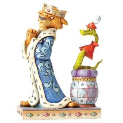 Disney Traditions Prince John And Sir Hiss Figurine