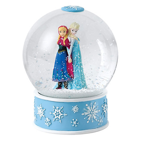 Enchanting Disney Collection Anna And Elsa Snow Globe