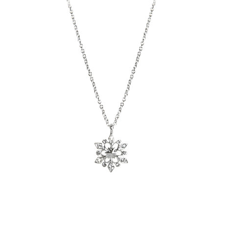 Frozen Snowflake Necklace, Arribas Jewelled Collection