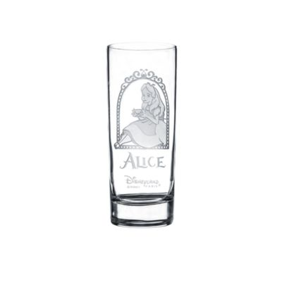 Alice in Wonderland Long Glass, Arribas Glass Collection