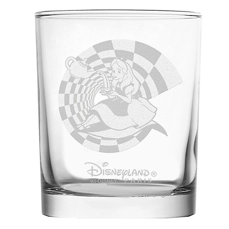 Alice in Wonderland Tumbler, Arribas Glass Collection