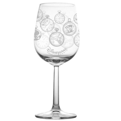 Alice Through The Looking Glass Wine Glass, Arribas Glass Collection