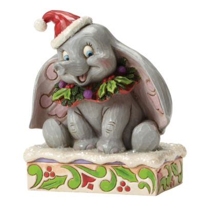 Disney Traditions Dumbo Christmas Figurine