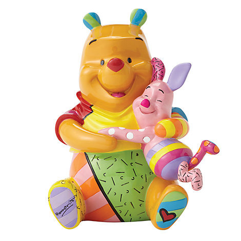 Britto Pooh and Piglet Figurine