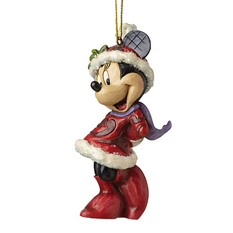 Disney Traditions Minnie Mouse Christmas Hanging Ornament