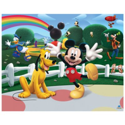Mickey Mouse 12 Panel Decorative Wall Mural