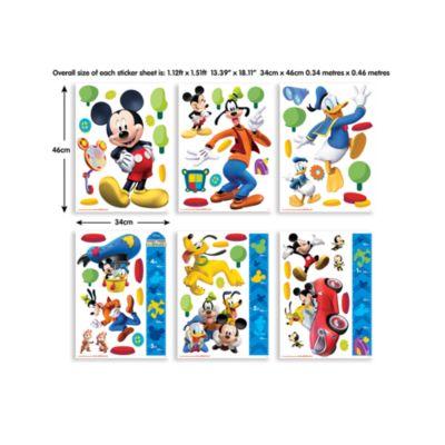 Mickey Mouse 58 Piece Room Decor Kit
