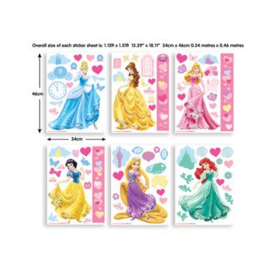 Disney Princess 81 Piece Room Decor Kit