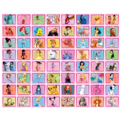 Disney Classic Characters 64 Piece Pink Collage Kit