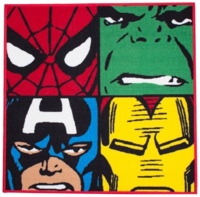 Marvel Shaped Floor Rug