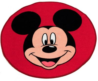 Mickey Mouse Shaped Floor Rug