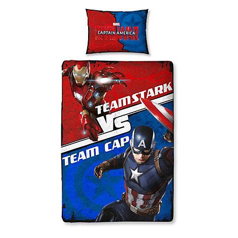 Captain America: Civil War Single Duvet Cover Set