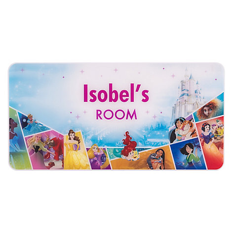Disney Princess Personalised Room Sign