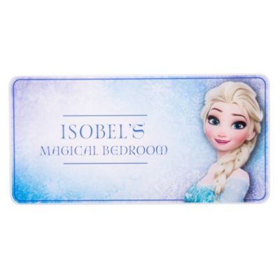 Elsa Personalised Room Sign, Frozen