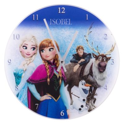 Frozen Analogue Wall Clock