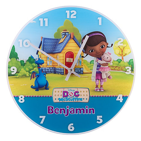 Doc McStuffins Analogue Wall Clock