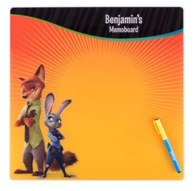 Zootropolis Memo Board