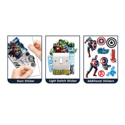 Captain America Large Wall Sticker