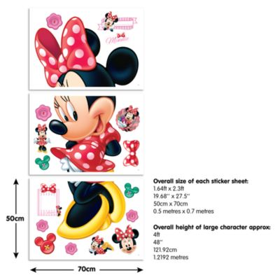 Minnie Mouse Large Wall Sticker