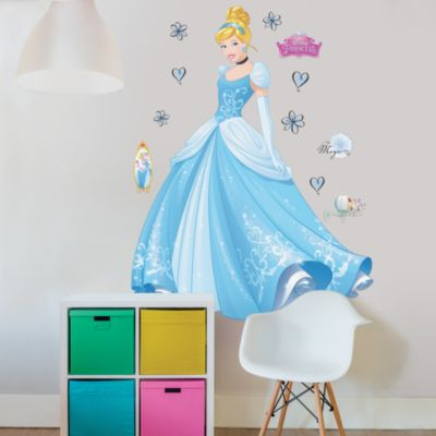 Cinderella Large Wall Sticker