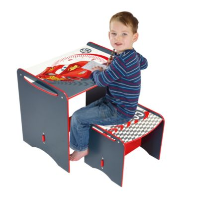 Disney Pixar Cars Desk and Stool Set