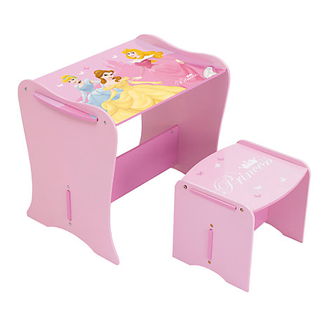 Disney Princess Desk and Stool Set