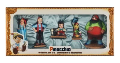 Pinocchio Ornaments Set