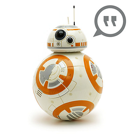 Muñeco con voz interactivo BB-8, Star Wars