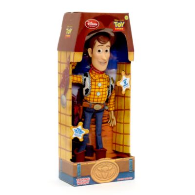 sprechender woody aus toy story disney store. Black Bedroom Furniture Sets. Home Design Ideas
