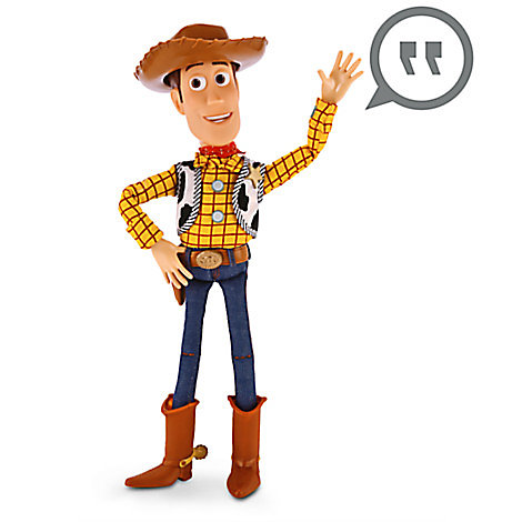 Figurine Woody parlante
