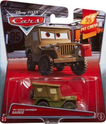 Disney Pixar Cars Pit Crew Member Sarge Die-Cast