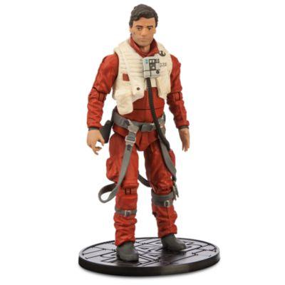 Figurine miniature Poe Dameron de 15 cm, de la série Elite de Star Wars