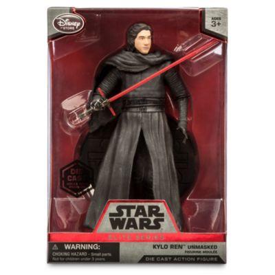 Figurine miniature Kylo Ren démasqué de 15 cm, de la série Elite de Star Wars