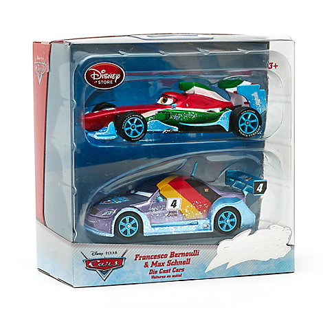 Disney Pixar Cars Ice Francesco Bernoulli and Max Schnell Die-Casts