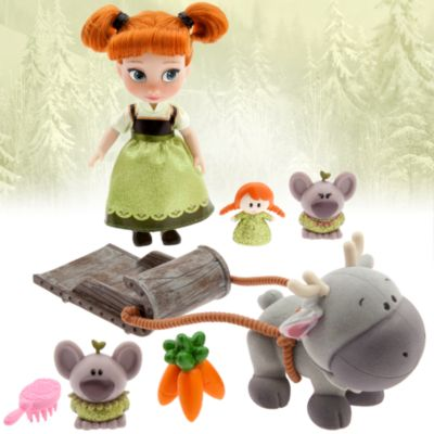 Animators Collection - Anna Spielset mit Mini-Puppe
