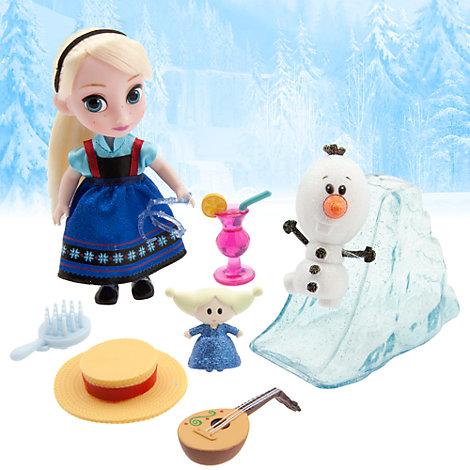 Set de juego Elsa edición Mini Animators