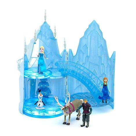 Set da gioco castello di ghiaccio musicale elsa di frozen il regno
