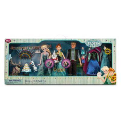 Frozen Fever Deluxe Doll Set