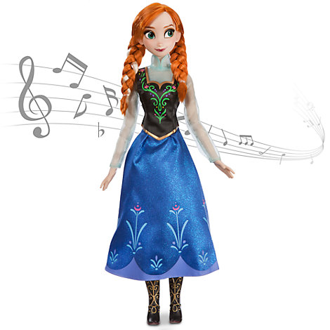Anna From Frozen Singing Doll