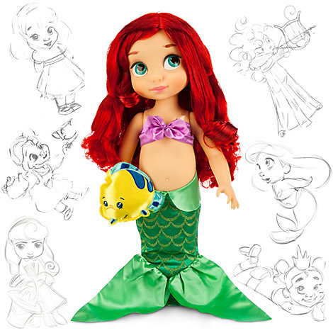 The Little Mermaid Animator Doll