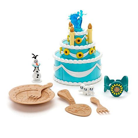 Jeu gâteau d'anniversaire d'Anna, La Reine des Neiges : Une Fête Givrée